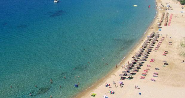 γάντζος παραλία