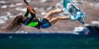 Η Μύκονος ανερχόμενος kitesurf προορισμός